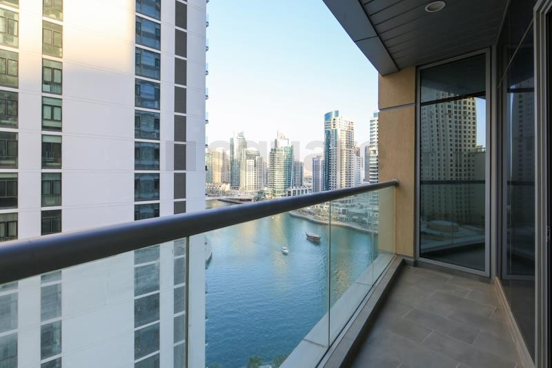 On Mid Floor || 2BR  with Large Balcony || Vacant