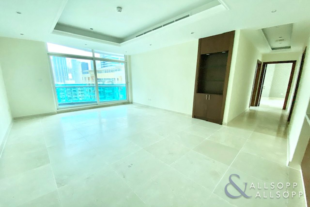 Two Bedrooms   Unfurnished   Large Balcony
