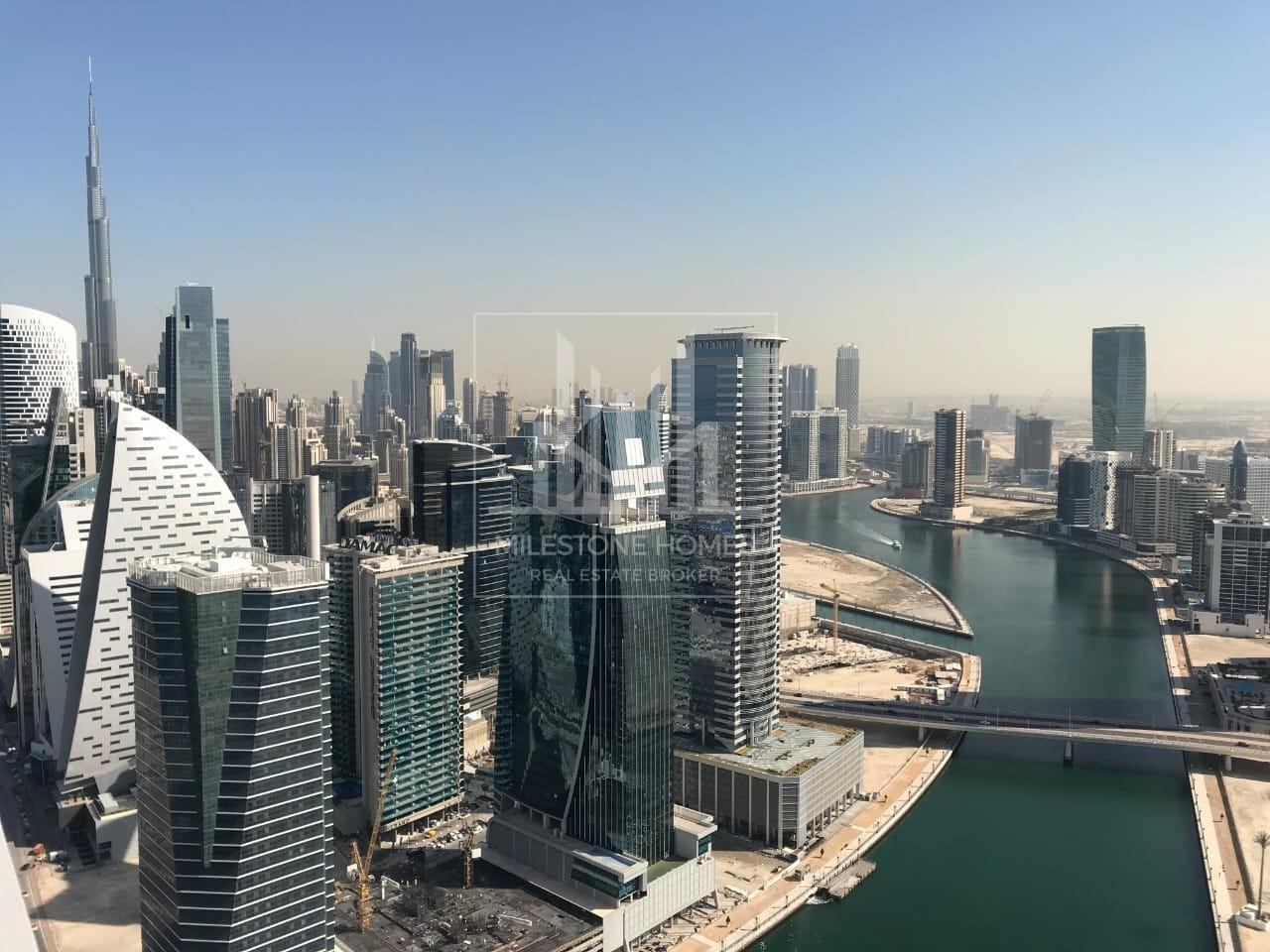 Spacious- 2BR | Meydan-Canal | High Floor