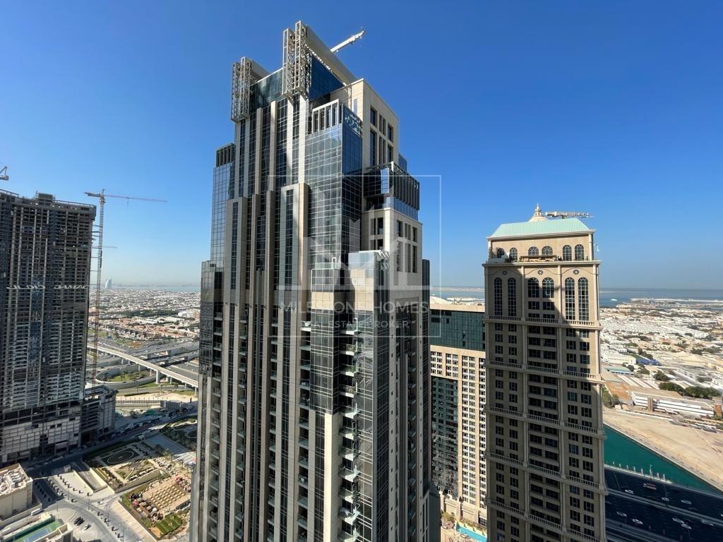 High Floor | 3-Bedroom | Meydan-Canal View