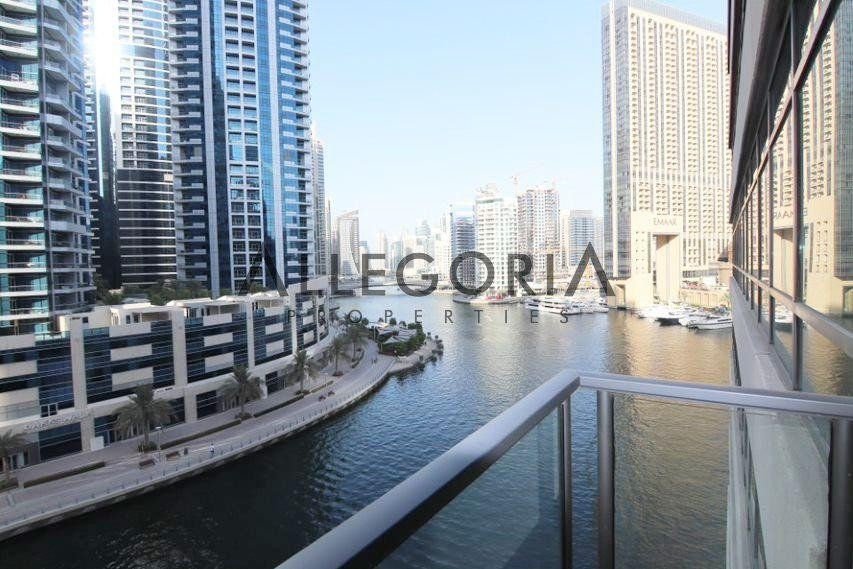 1 Bed Plus Separate Study, Full Marina View