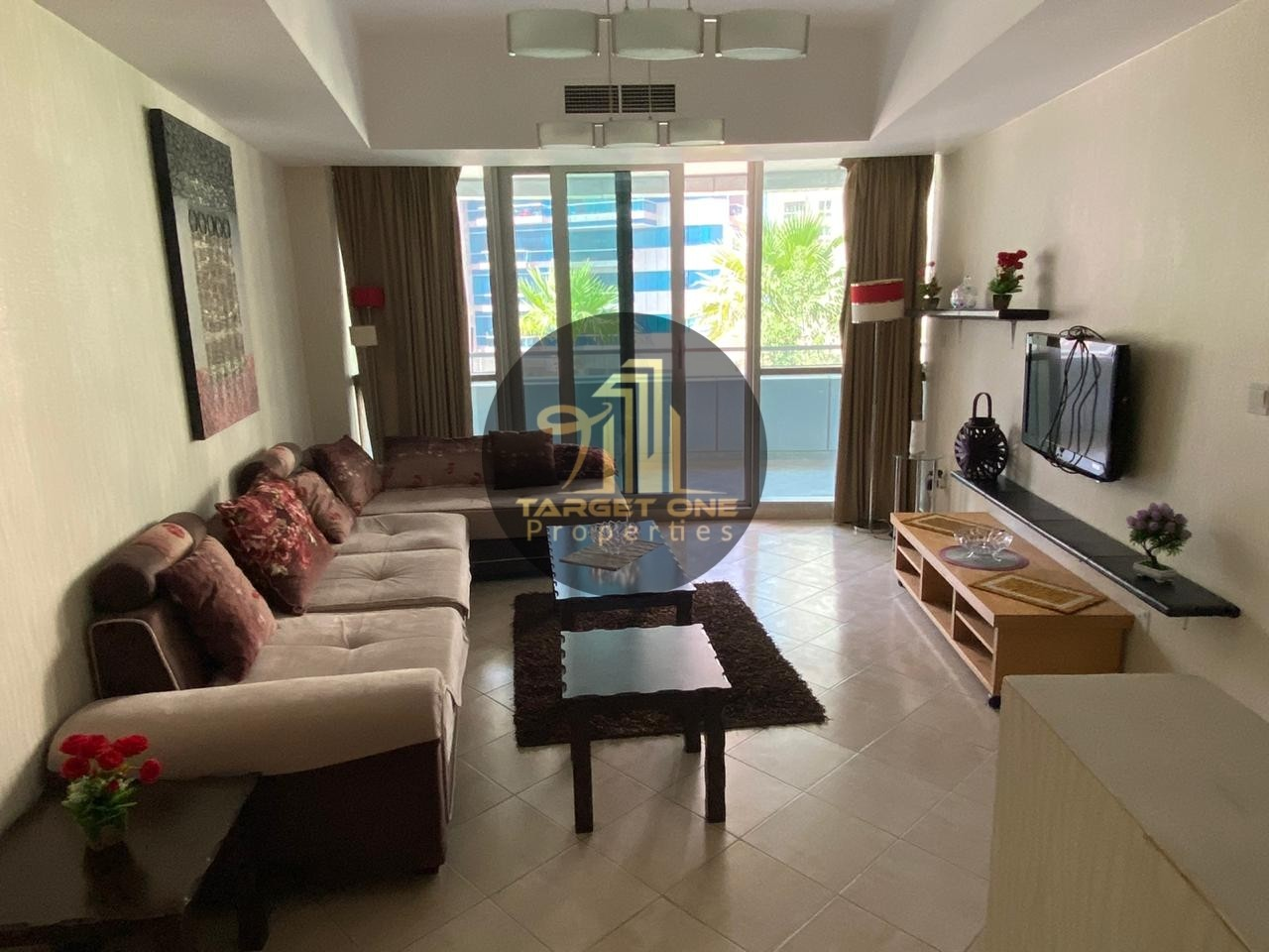 Fully Furnished , Specious , Pool View, 1BR Dubai Marina