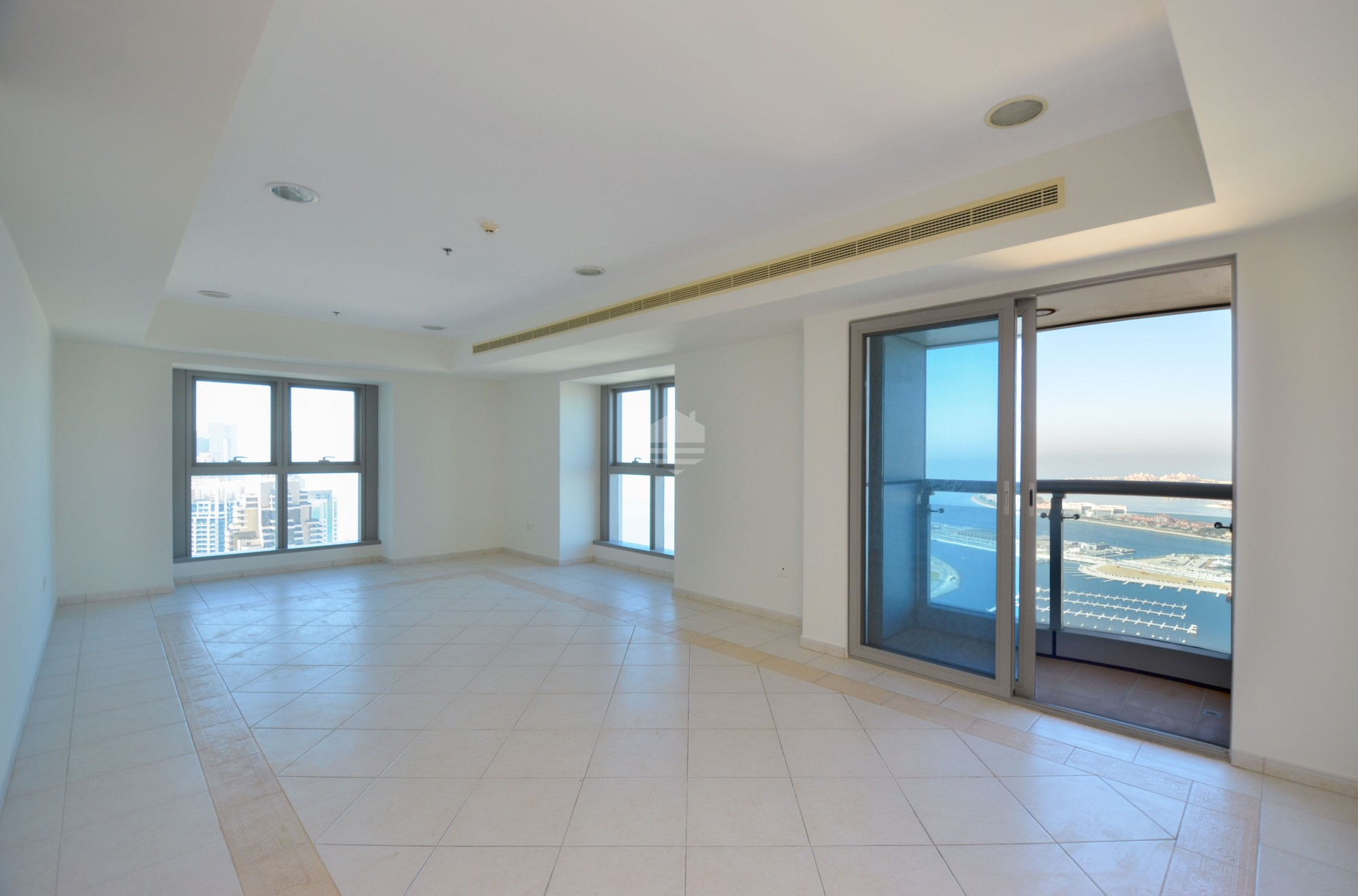 Princess Tower 3BR Plus Maids Room Sea View Higher Floor