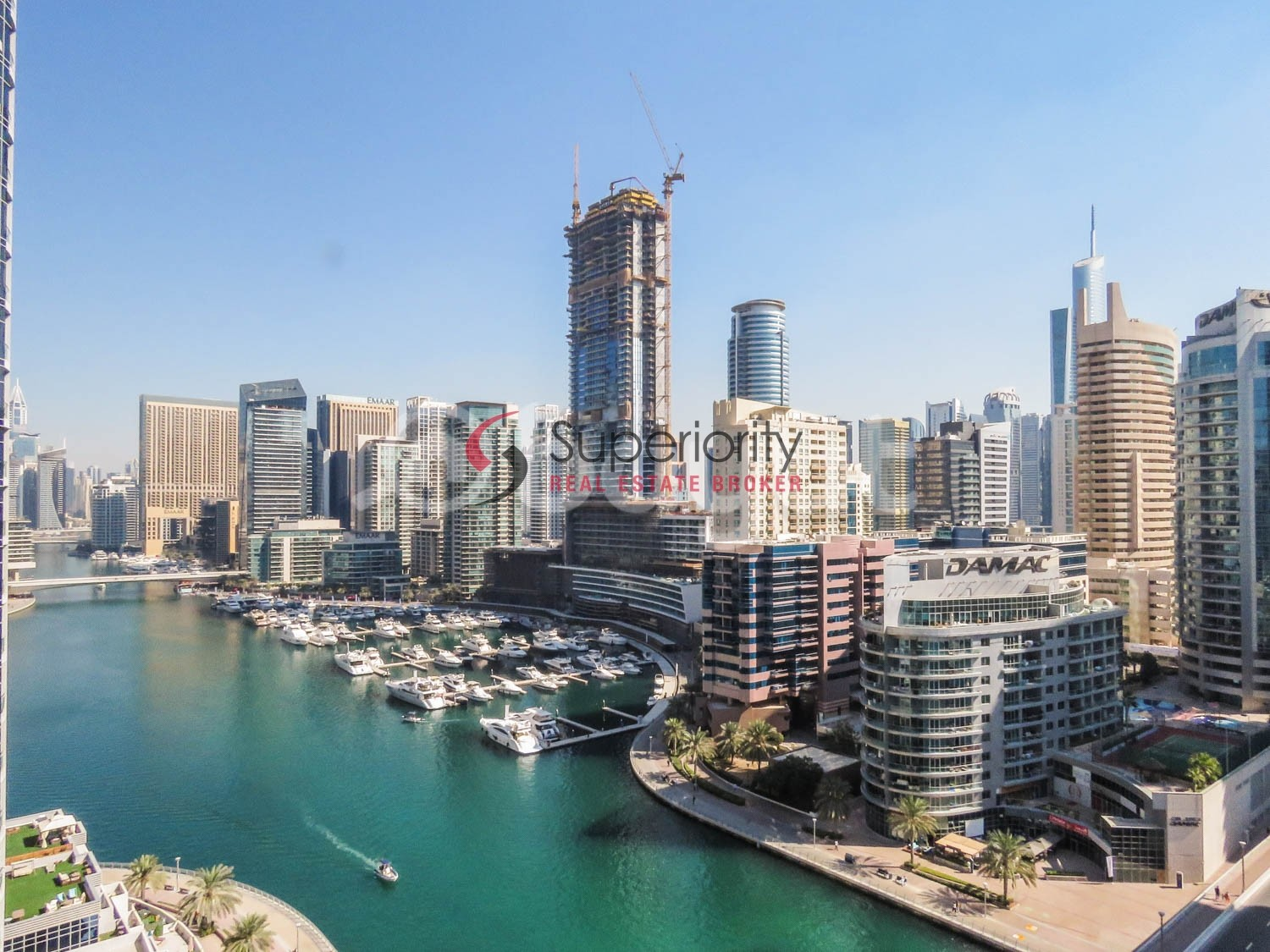 Furnished 1 Bed Room for sale in Sparkle tower - Marina