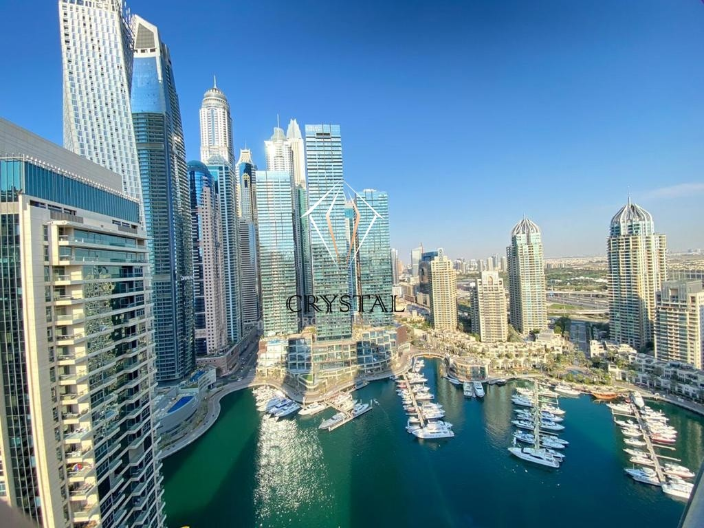 Stunning Marina View | Fully Furnished | 3 BR Apt | Marina Terrace
