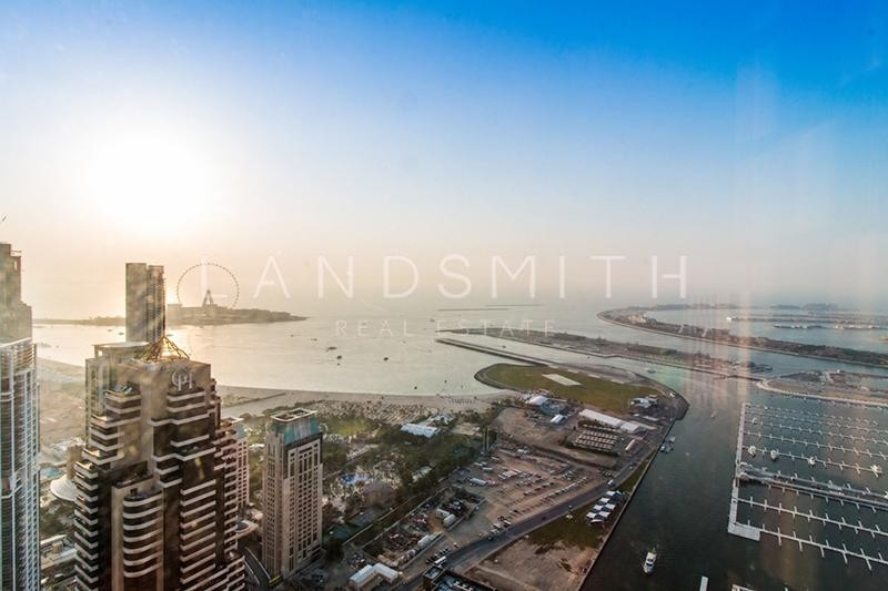 Stunning views 1BR High Floor Duplex Apartment