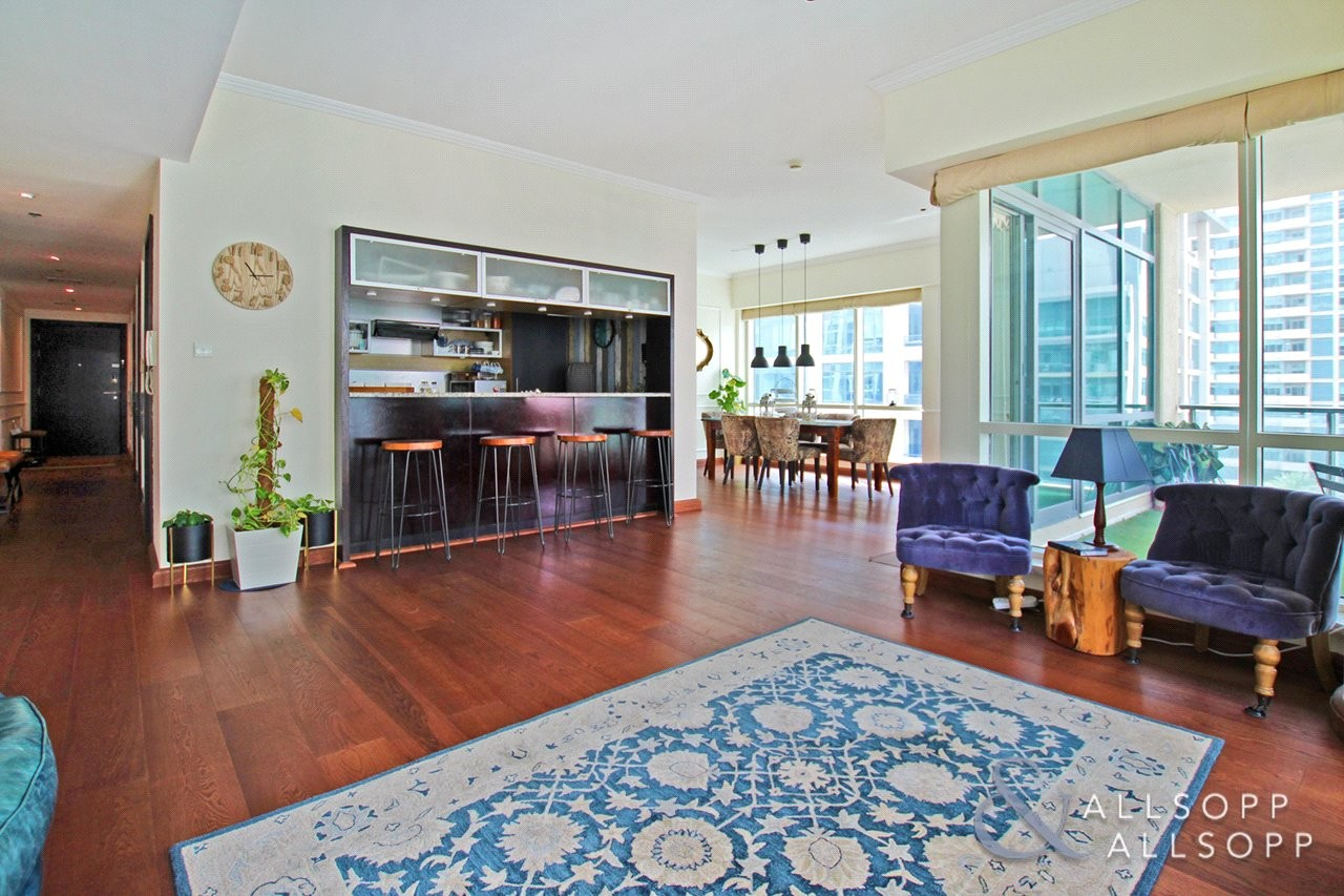Marina View | Terrace | 3 Bedrooms + Study