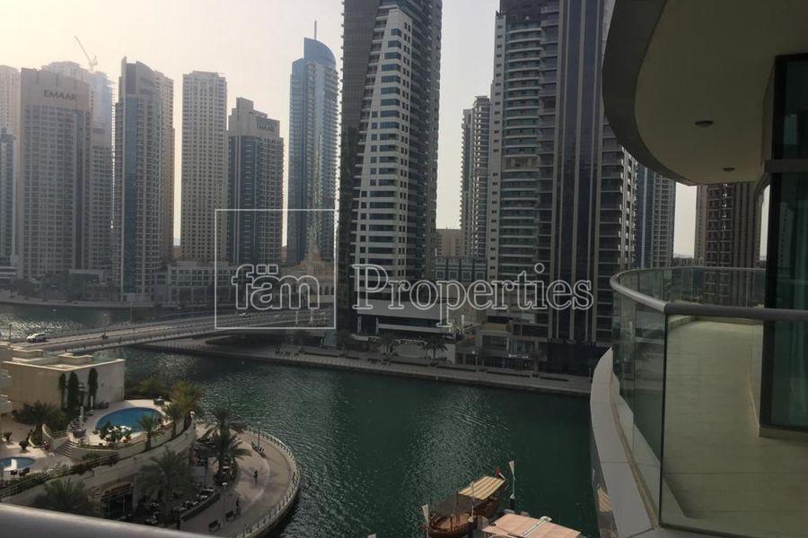 Huge 2BR+M| HighFloor |Big Balcony Marina view