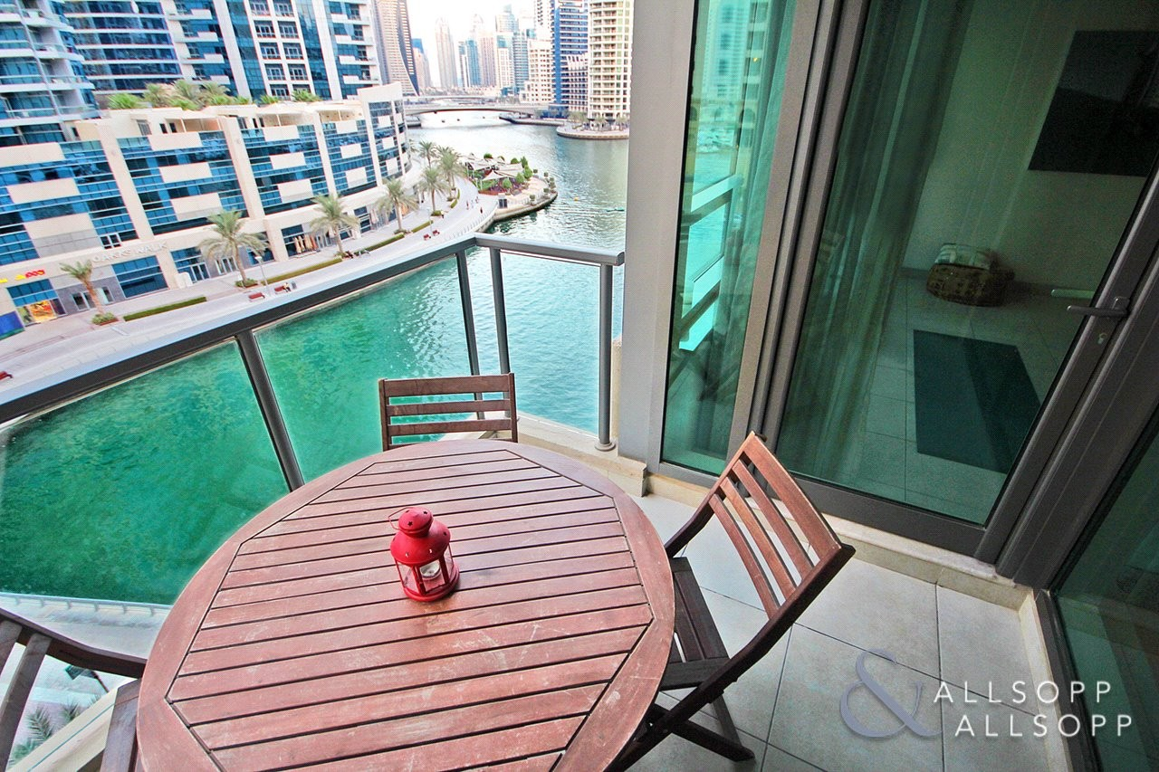 One Bed Plus Study | Marina View | Vacant