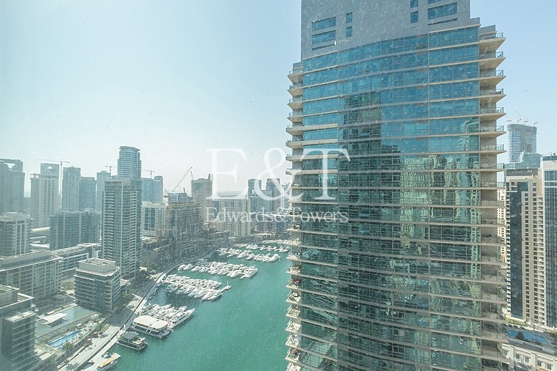 Available 21st March|High Floor|Full Marina View