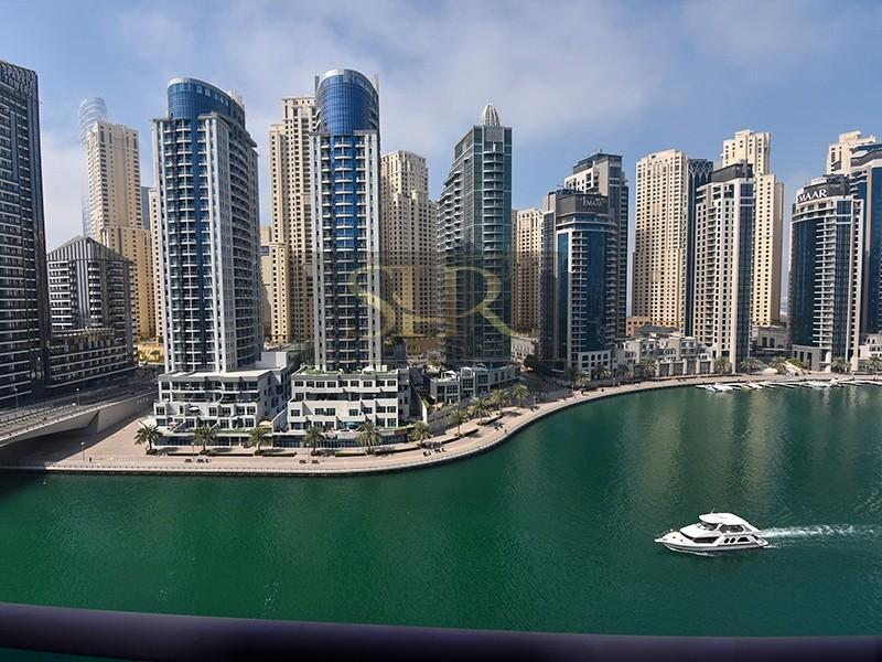 Outstanding Full Marina View | 3 BR+Maid | 800 per/sqft
