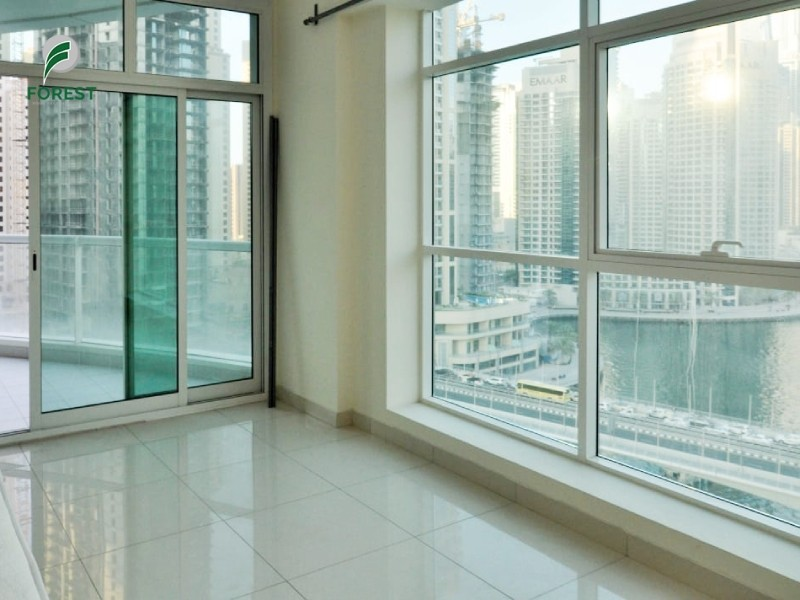 Modern Style | 2BR with Marina View | Unfurnished