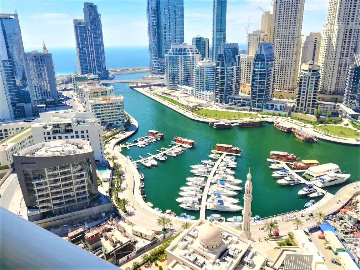 Full Marina n Sea views Luxury apartment with a maids room
