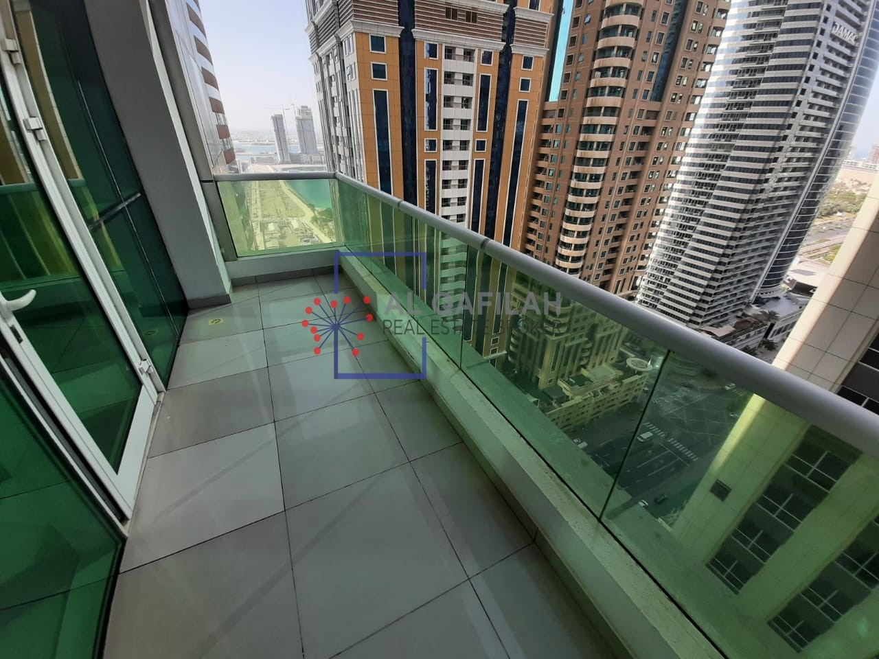 Spacious | Beautiful view from balcony | Chiller included |