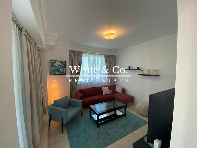 Fully Furnished   Full Marina View    1 Bed+Maid