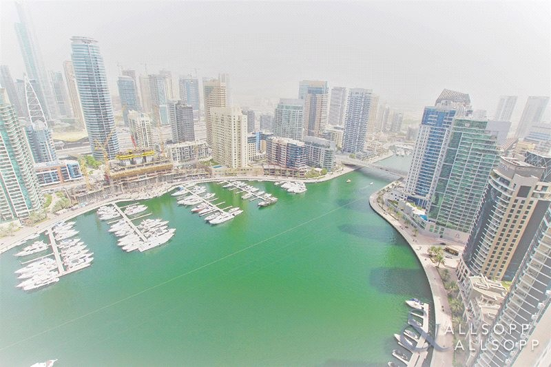 Two Bedrooms | High Floor | Marina Views