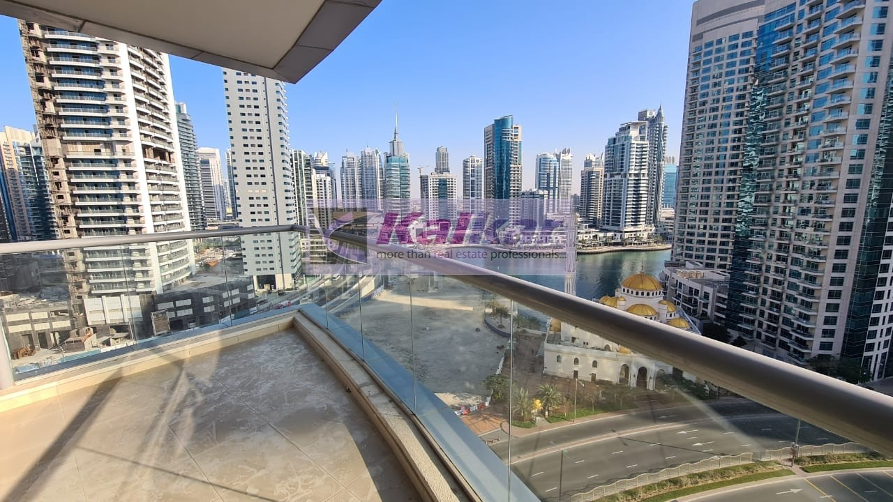 1 BR   Chiller Free    4 Chqs   896 SqFt   S R    Marina View  @ Sky View Tower