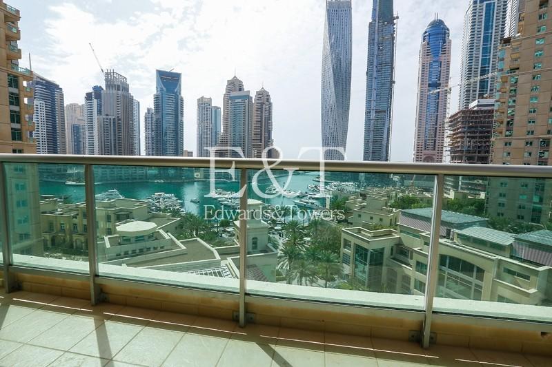 Stunning Full Marina View|Low Floor|Unfurnished