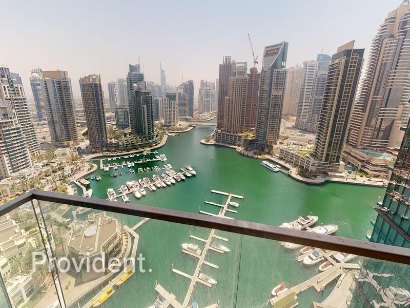 Panoramic Marina View|3BR + Maids|Luxury Building