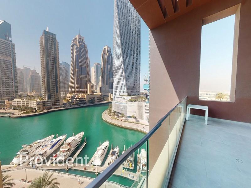 Luxury 2BR Duplex Villa | Panoramic Marina View