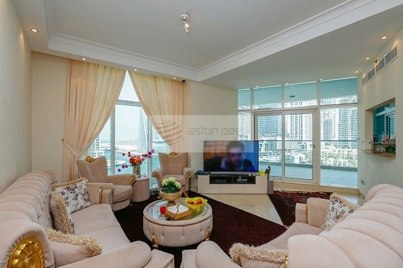 Vacant Now | Full Marina View  3BR+Maid | Must See