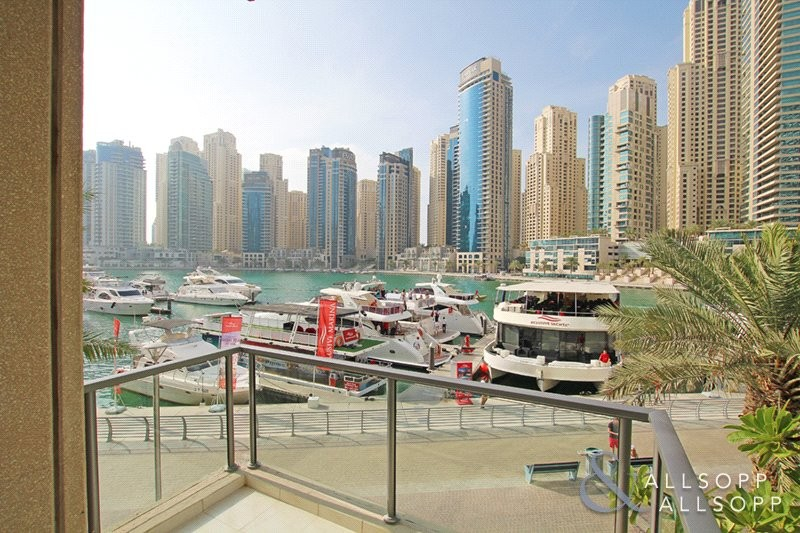 Furnished  | 4 Cheques | Marina Views