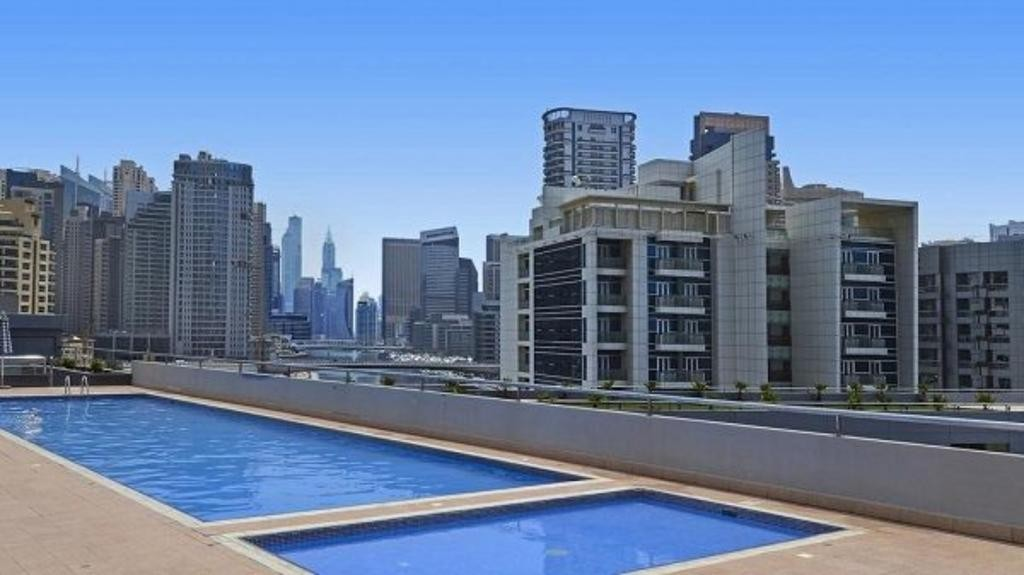 Amazing deal in marina , 2 b/r with chiller free , 4 cheques , balcony
