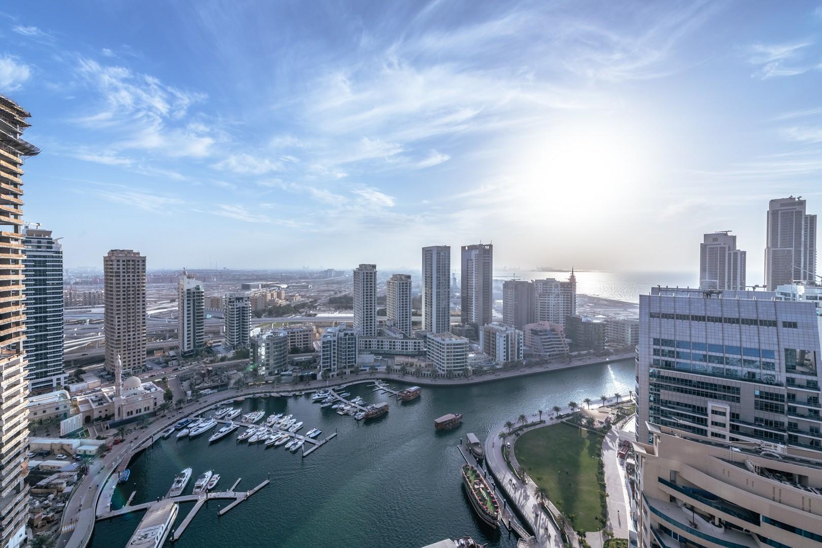Marina & Sea View | Maids Room | Balcony