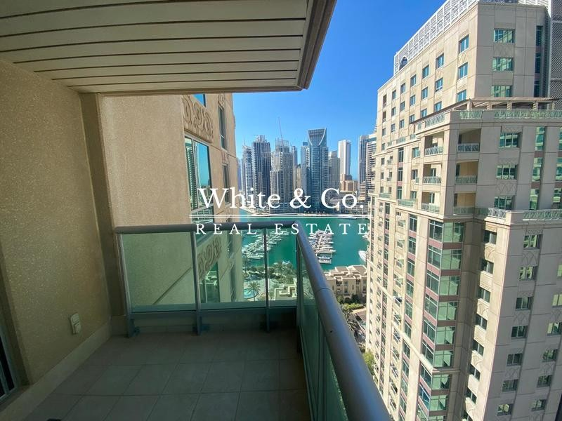 Partial Marina View | Un-furnished | Chiller incl