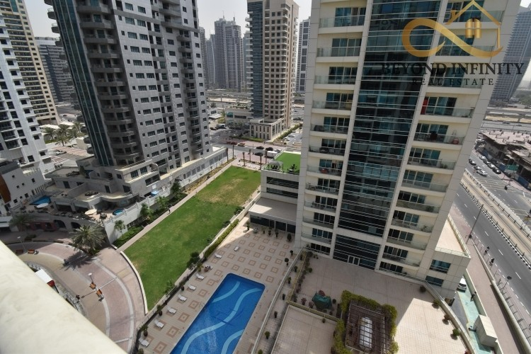 Lake View | Un Furnished 2 BR Apt | High floor