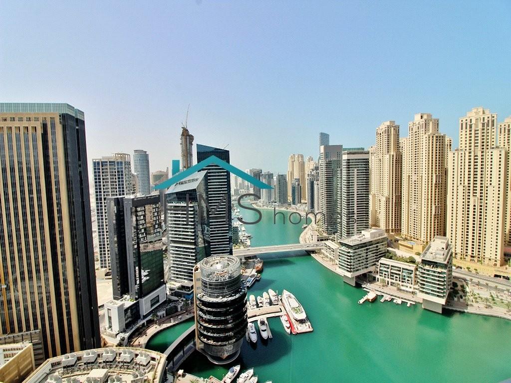 Amazing Marina Views | Vacant | Furnished |