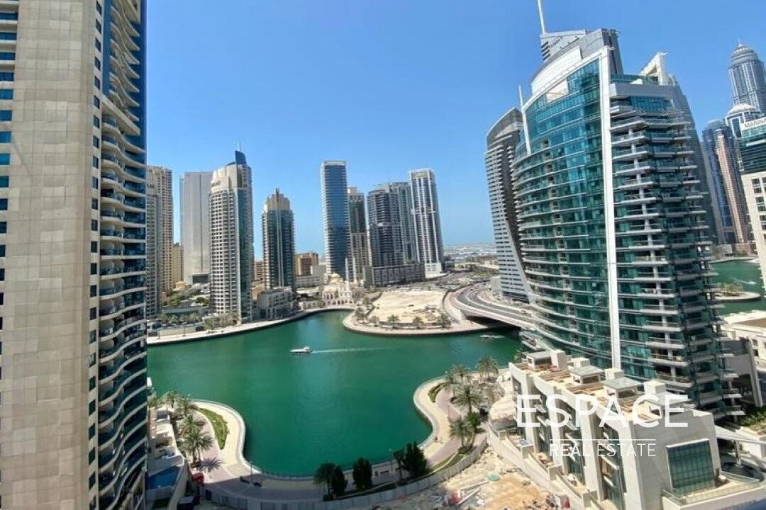 Balcony | Unfurnished | Full Marina View