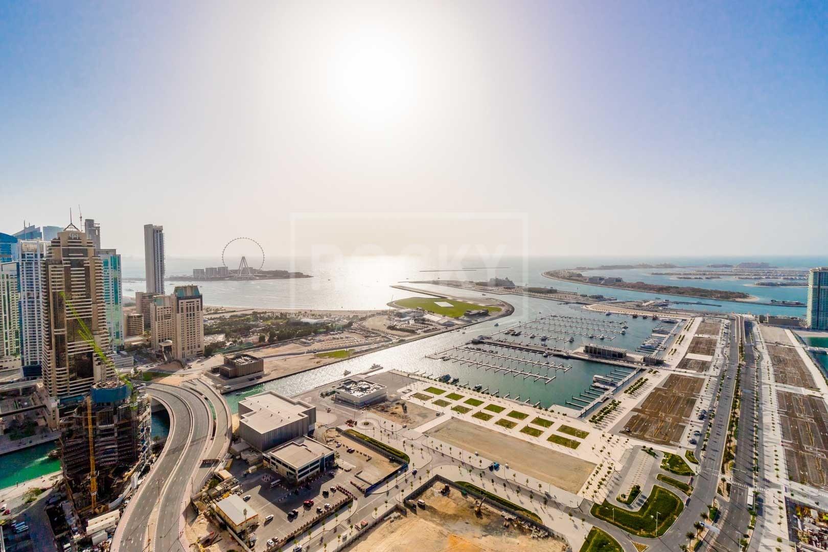 Exclusive | Spacious | Higher Floor | 4-Bed | Sea View