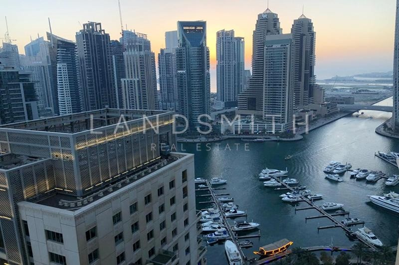 Nice Marina View 2BR on High Floor Apartment