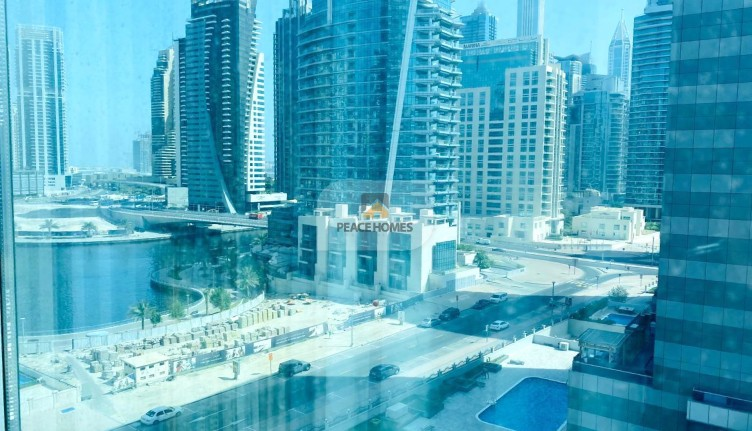 MARINA VIEW | FULLY FURNISHED | SPACIOUS 1BR @47K