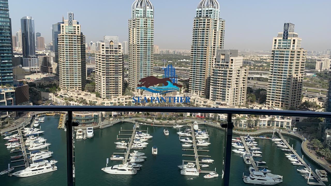 Furnished & Spacious 2 BHK | Marina View
