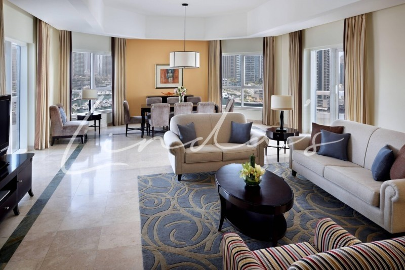 Furnished & Serviced | Luxury 3 and 2 Bedrooms Apartment