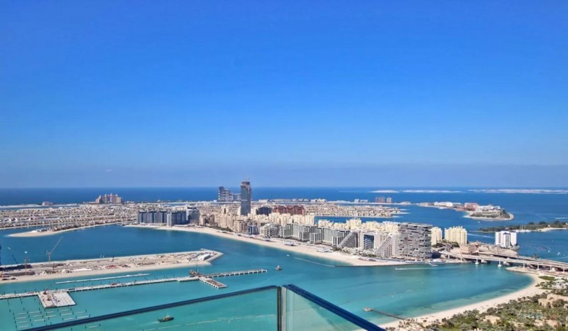 Full Palm and Sea View I Spacious Penthouse