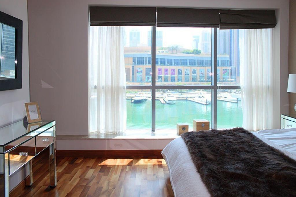 3 levels podium villa wirh full marina view , big terracce opposite jbr  beach