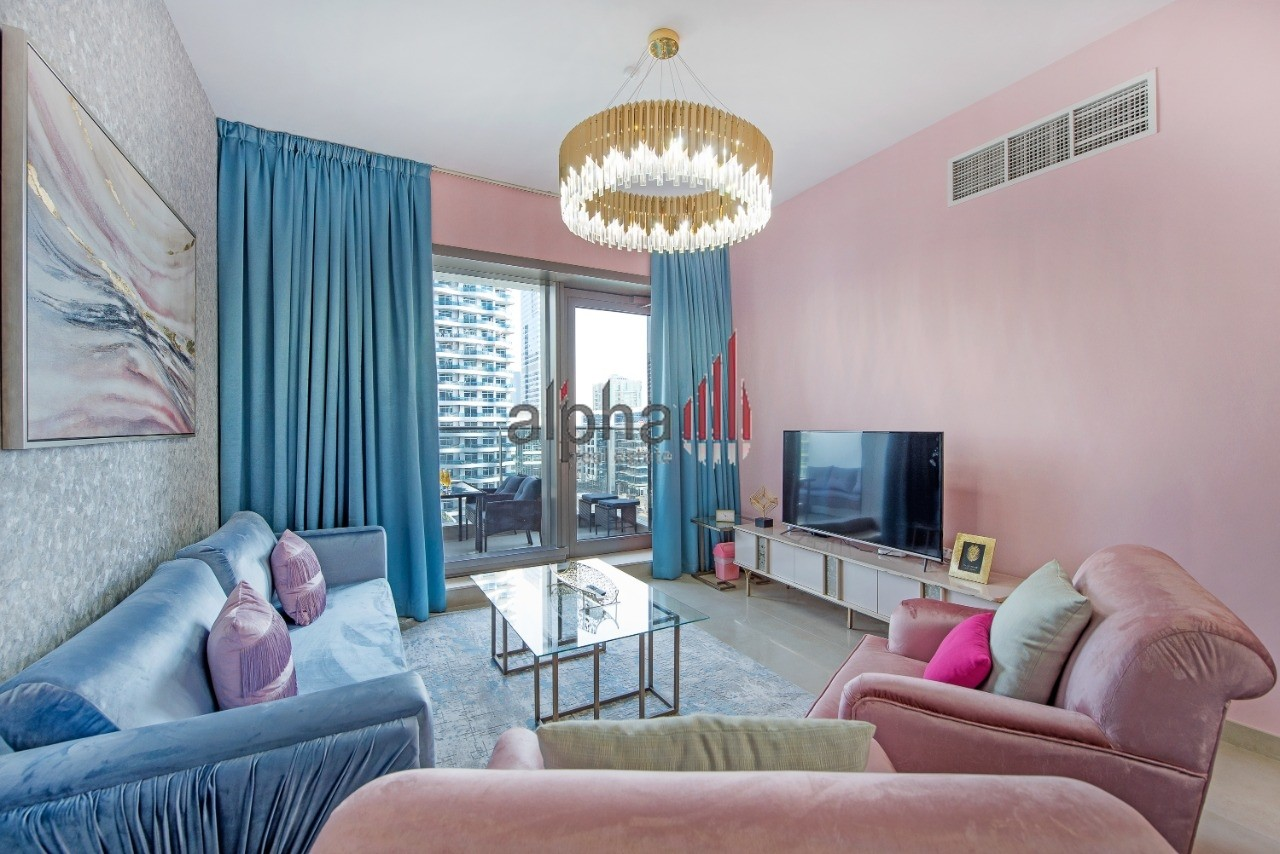 Beautifully furnished 2 bedroom apartment in Sparkle T1