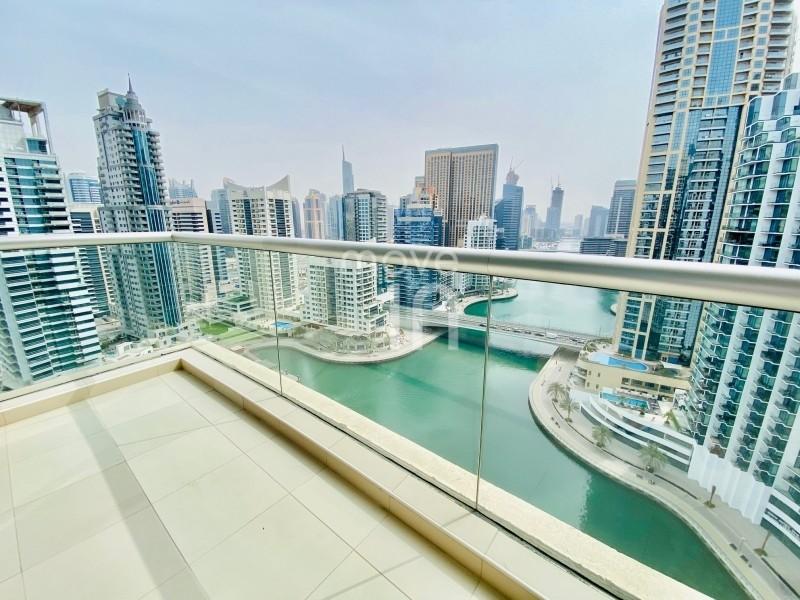Stunning 2 Bed | Full Marina View | Chiller Free