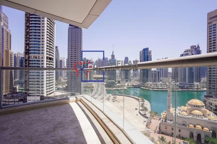 BEST DEAL    LAKE VIEW 1 BEDROOM  DUBAI MARINA   58k
