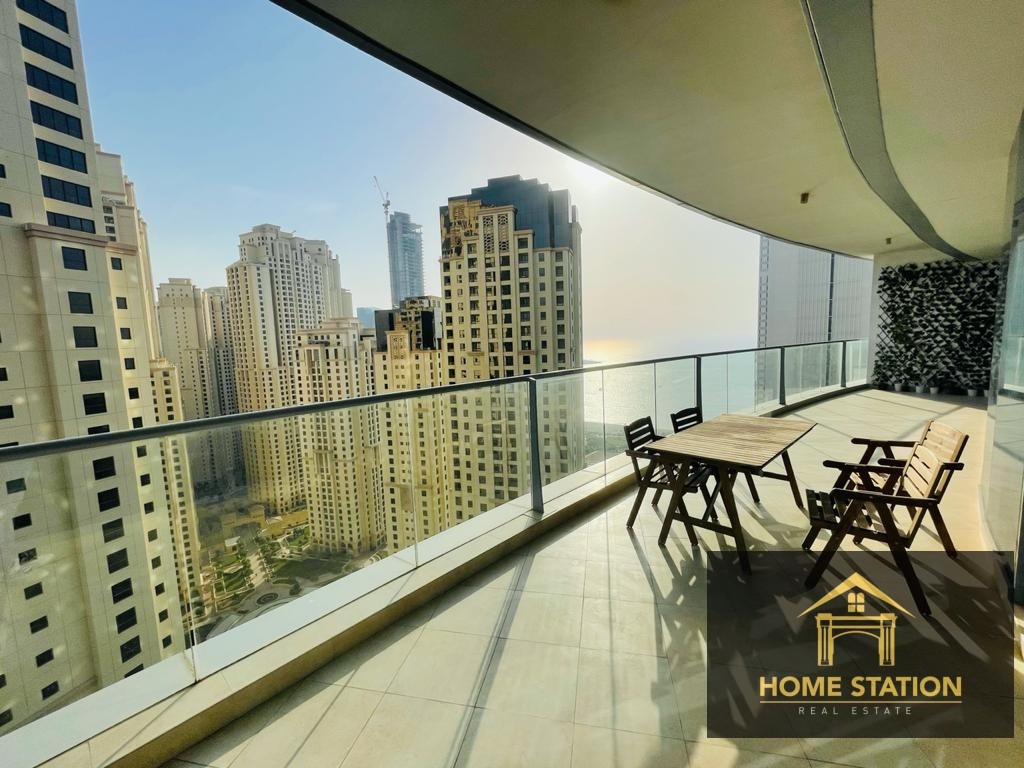 Irresistible views| Appealing Layout| 2BR+ Extra Storage