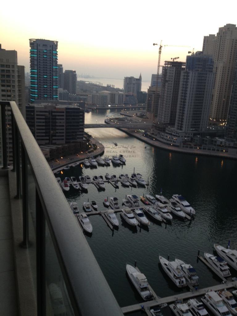 Large Balcony | Fully Furnished | Marina View