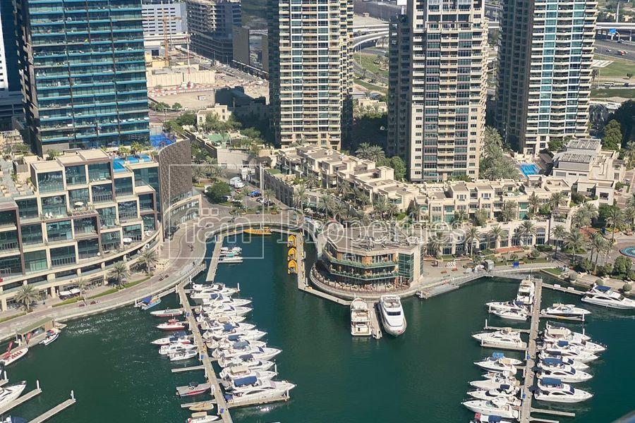 Spectacular Marina/Sea views | Furnished | Balcony