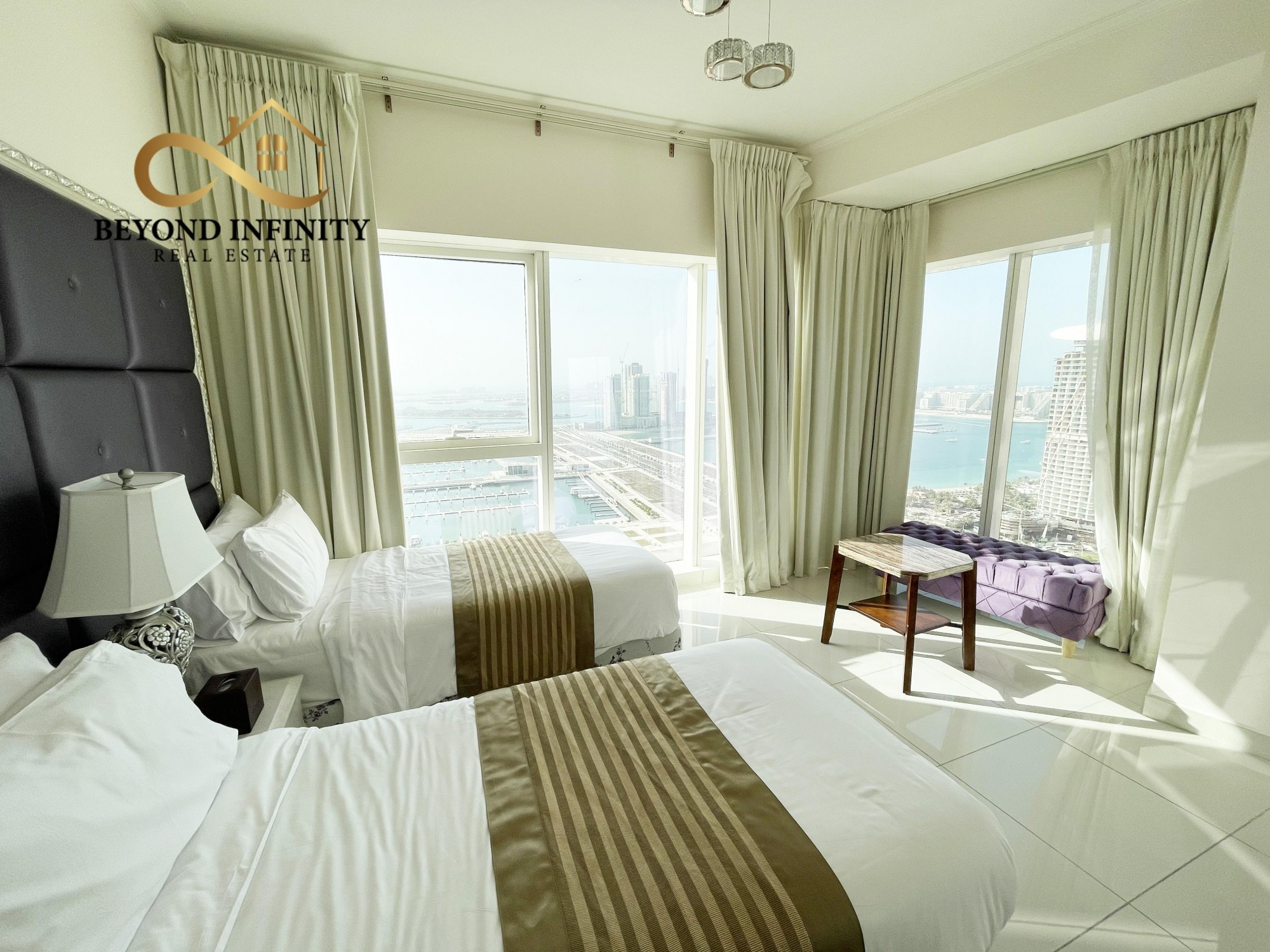 Sea View | Fully Furnished | 2 Bedroom