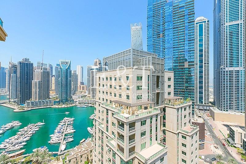 Fully Upgraded   Vacant   High Floor   Marina View