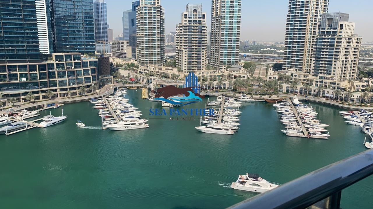 Marina View | Un Furnished 1 BR | Chiller Free