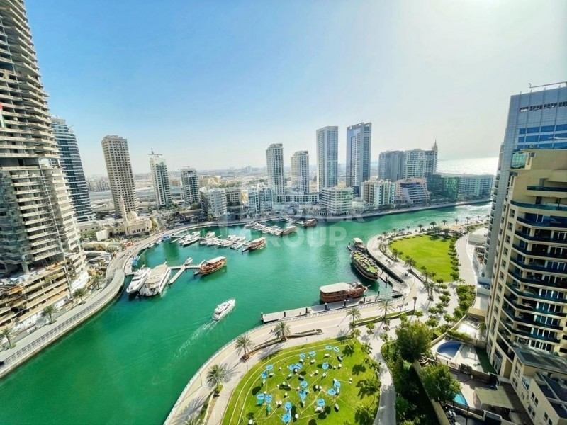 Full Marina View|1 Bedroom |Nicely Furnished