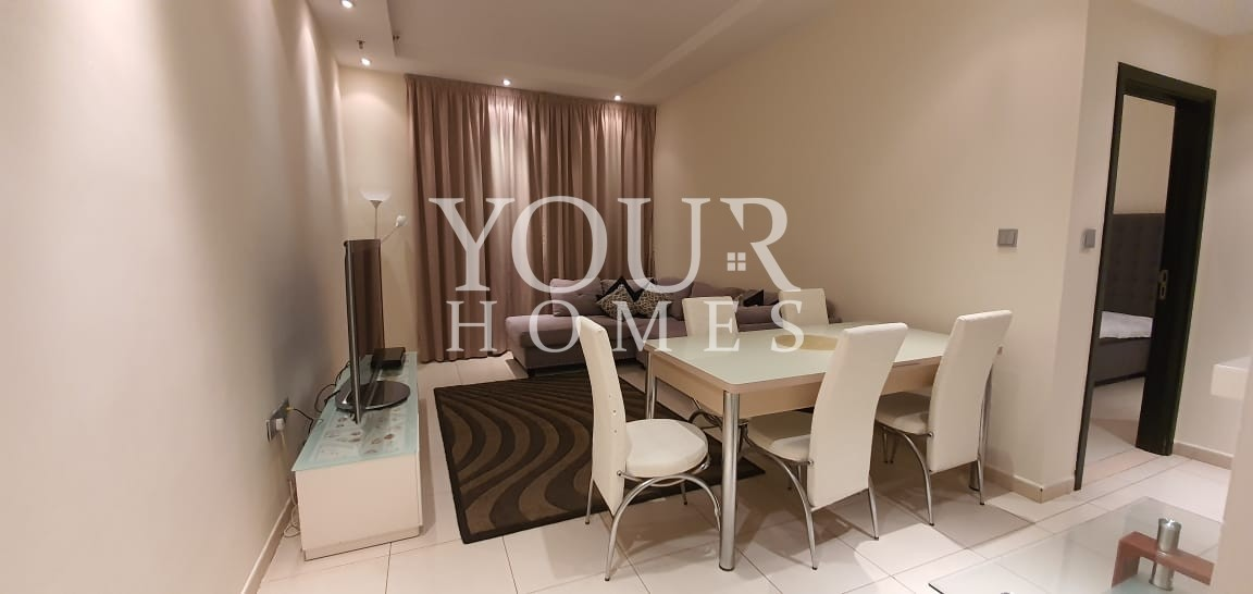 Modern furnished 1 BR for rent in Skyview tower